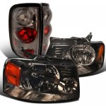 2004 Ford F150 Smoked Headlights and Altezza Tail Lights