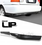 Honda Civic 1996-1998 Black Rear Lip