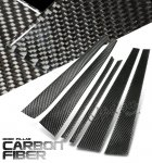 Mercedes Benz E Class Sedan 1986-1995 Carbon Fiber Door Pillars
