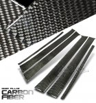 2000 VW Golf Carbon Fiber Door Pillars