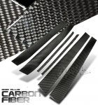 Mercedes Benz E Class 2000-2002 Carbon Fiber Door Pillars