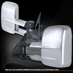 Chevy Suburban 2000-2006 Chrome Manual Towing Mirrors