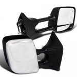 Nissan Titan 2004-2012 Chrome Towing Mirrors with Power Heated Mirror