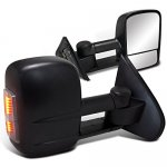 Chevy Silverado 2014-2015 Towing Mirrors Power Heated LED Signal Lights
