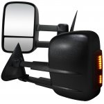 Ford F250 Light Duty 2000-2003 Power Towing Mirrors with Signal Lights