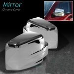 Jeep Patriot 2007-2011 Chrome Side Mirror Covers