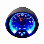 Black 2 Inches Volt Gauge