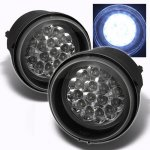 Jeep Compass 2007-2010 Clear LED Fog Lights