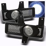Ford F250 Light Duty 1997-1998 Clear LED Fog Lights