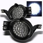 2008 Dodge Ram Clear LED Fog Lights