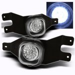 2002 Ford F250 Clear LED Fog Lights