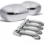 Dodge Magnum 2005-2008 Chrome Side Mirror Covers and Door Handles