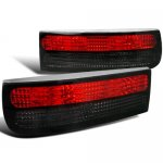 Nissan 300ZX 1990-1996 Red and Smoked Custom Tail Lights