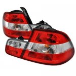 BMW 3 Series Coupe 2000-2003 Custom Tail Lights Red and Clear