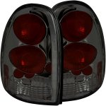 2000 Chrysler Town and Country Smoked Custom Tail Lights