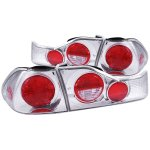 1999 Honda Accord Sedan Chrome Custom Tail Lights