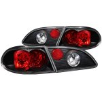 Toyota Corolla 1998-2002 Black Custom Tail Lights