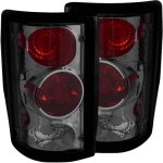 Ford Excursion 2000-2005 Smoked Custom Tail Lights