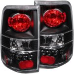 2004 Ford F150 Black Custom Tail Lights