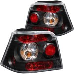 VW Golf 1999-2004 Black Custom Tail Lights