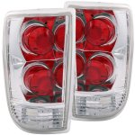 GMC Envoy 1998-2000 Chrome Custom Tail Lights