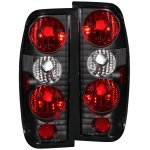 2003 Nissan Frontier Black Custom Tail Lights