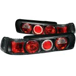 Acura Integra Coupe 1990-1993 Black Custom Tail Lights