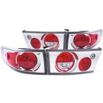 2004 Honda Accord Sedan Chrome Custom Tail Lights