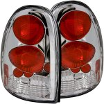 2002 Dodge Durango Chrome Custom Tail Lights