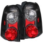 2007 Ford Escape Black Custom Tail Lights