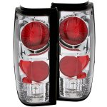 1993 GMC Sonoma Chrome Custom Tail Lights