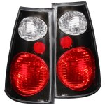 2003 Ford Explorer Sport Trac Black Custom Tail Lights