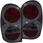 Jeep Liberty 2002-2007 Smoked Custom Tail Lights