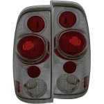 2007 Ford F350 Super Duty Smoked Custom Tail Lights