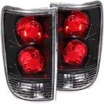 2000 Oldsmobile Bravada Black Custom Tail Lights
