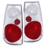 2003 Ford Explorer Sport Trac Chrome Custom Tail Lights
