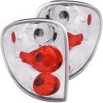 Chrysler Town and Country 2001-2003 Clear Custom Tail Lights