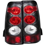 2004 GMC Sierra Black Custom Tail Lights