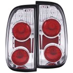 Toyota Tundra 2000-2004 Chrome Custom Tail Lights