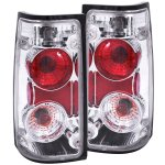 1994 Isuzu Rodeo Clear Custom Tail Lights