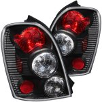 Mazda Protege Hatchback 2002-2003 Black Custom Tail Lights