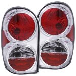 Jeep Liberty 2002-2007 Chrome Custom Tail Lights