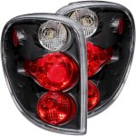 Chrysler Town and Country 2001-2003 Black Custom Tail Lights