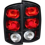 2002 Dodge Ram Carbon Fiber Custom Tail Lights