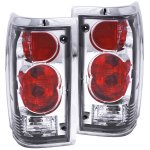 Mazda B2600 1986-1993 Chrome Custom Tail Lights