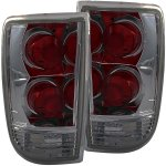 2000 Oldsmobile Bravada Smoked Custom Tail Lights
