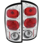 2002 Dodge Ram Clear Custom Tail Lights