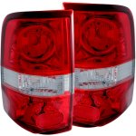 2007 Ford F150 Red Custom Tail Lights