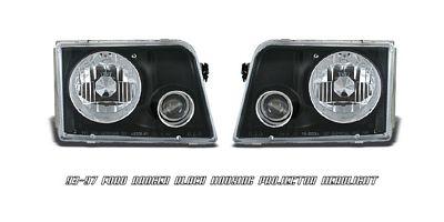 Ford Ranger 1993-1997 Black Projector Headlights