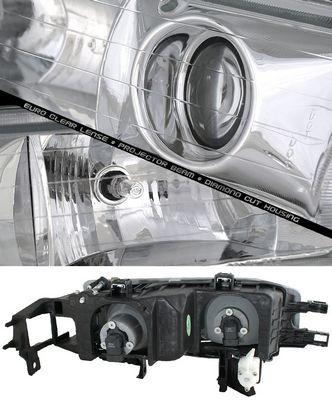 Honda Accord 1990-1993 Clear Projector Headlights